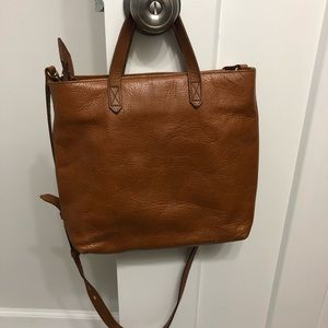 Madewell Zip Top transport crossbody